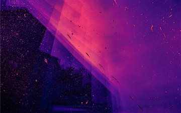 Neon dream iMac wallpaper