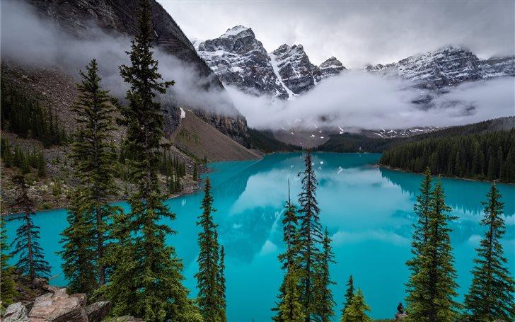 I saw quite a few lakes i... Mac Wallpaper