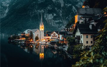 Hallstatt, Austria All Mac wallpaper