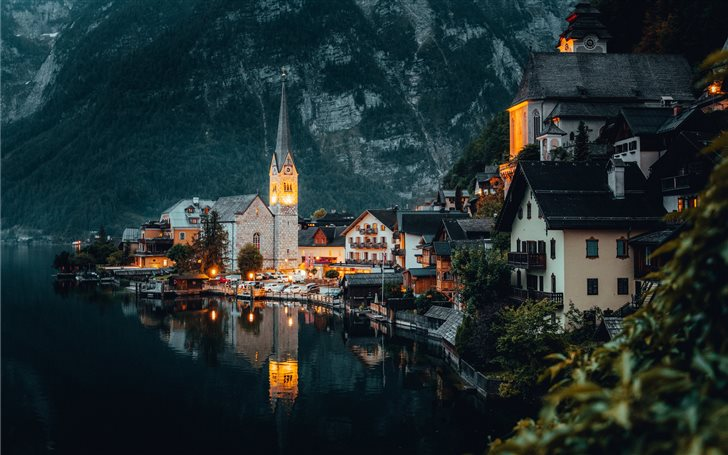 Hallstatt, Austria Mac Wallpaper