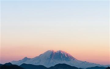 Mountain Rainier National... Mac wallpaper