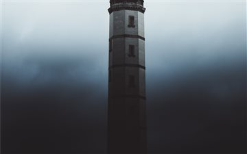 Lighthouse in Shadow. All Mac wallpaper