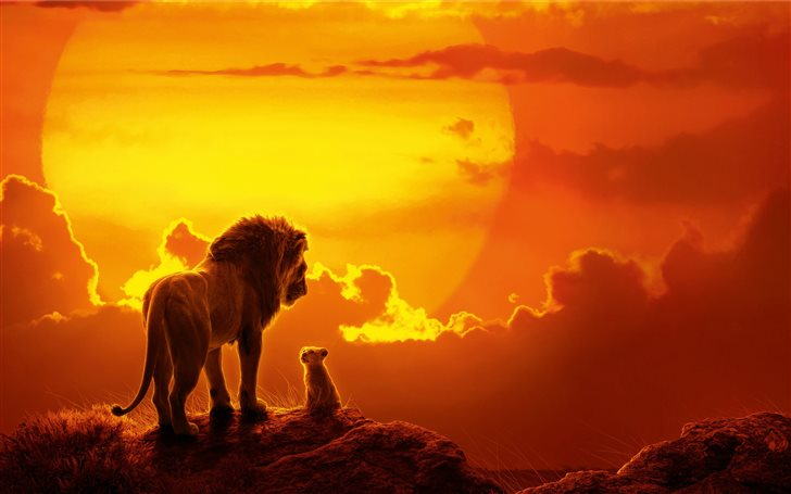 the lion king movie 8k Mac Wallpaper