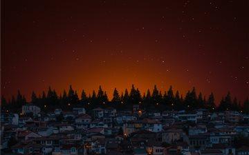 Ohrid is a small resort c... Mac wallpaper