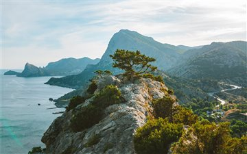 Crimean landscape Mac wallpaper