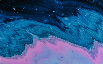 oil spill iMac wallpaper