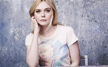elle fanning 2019 5k All Mac wallpaper