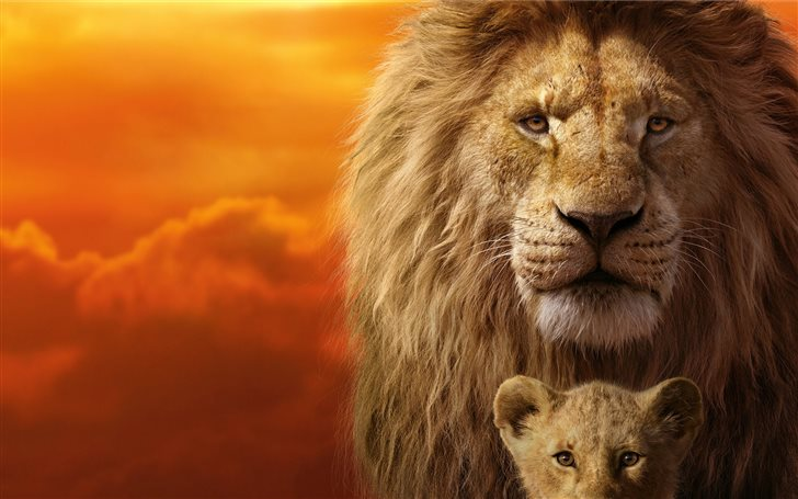 the lion king 8k Mac Wallpaper