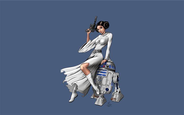 princess leia star wars 5... Mac Wallpaper