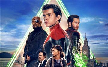 2019 spiderman far from h... Mac wallpaper