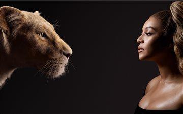 beyonce as nala the lion ... Mac wallpaper