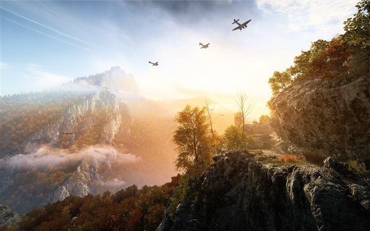 battlefield v game 4k Mac Wallpaper