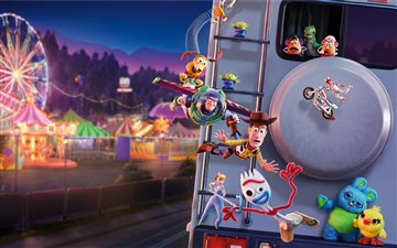 toy story 4 5k All Mac wallpaper