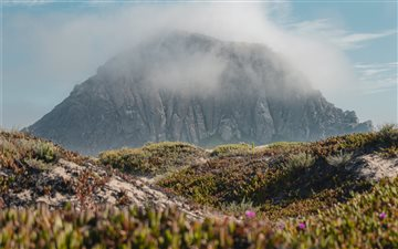 Morro Rock, California All Mac wallpaper