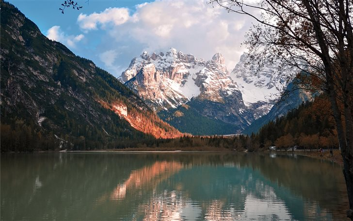 Dolomiti, Italy, South Ti... Mac Wallpaper