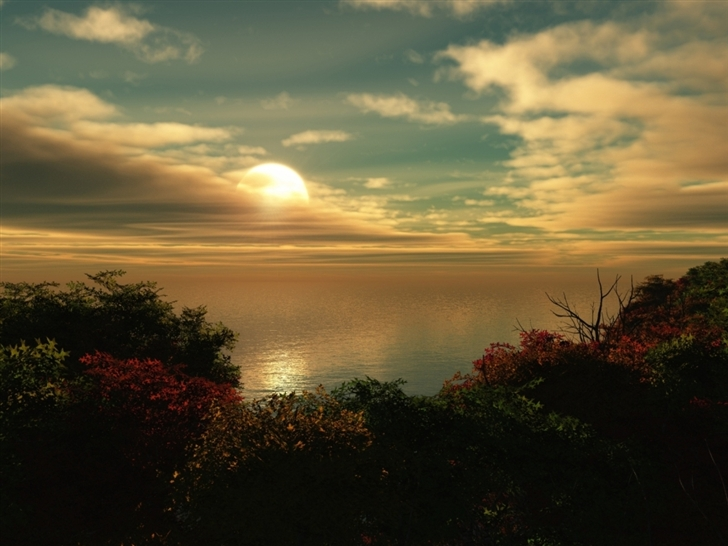 Great Sunset Mac Wallpaper