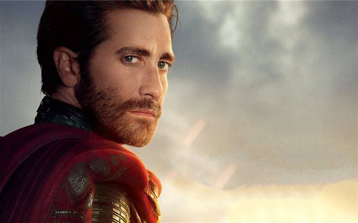 jake gyllenhaal as mysterio in spider man far from Mac Wallpaper