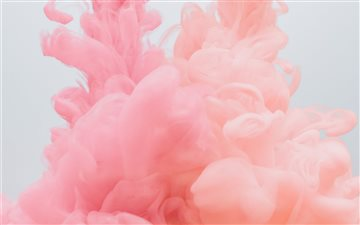 pink smoke iMac wallpaper