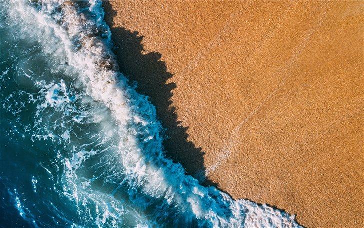 raging seashore Mac Wallpaper