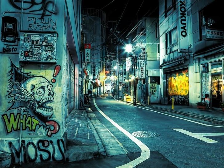 Graffiti Mac Wallpaper