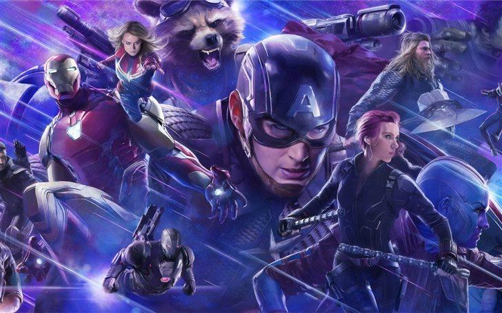 5k avengers endgame 2019 Mac Wallpaper