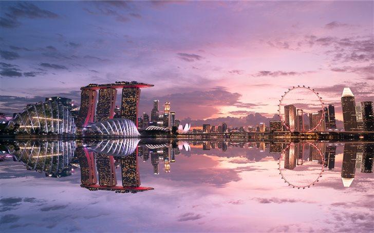 Marina Bay Sands Singapore Mac Wallpaper