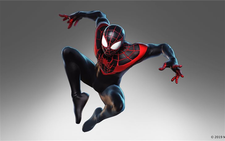 marvel ultimate alliance 3 2019 miles morales Mac Wallpaper