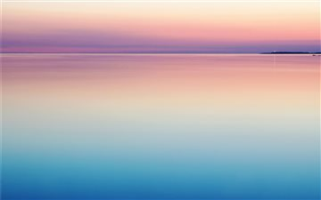 photo of blue and pink sea All Mac wallpaper