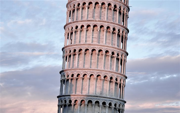 Leaning Tower of Pisa Italy Mac Wallpaper