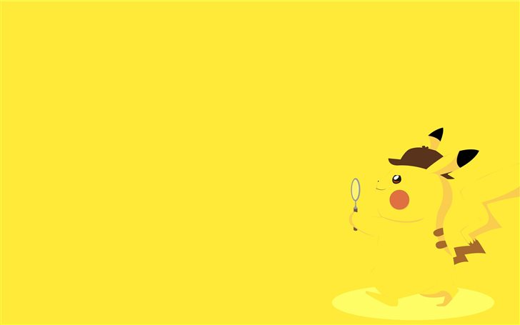 detective pikachu 8k Mac Wallpaper