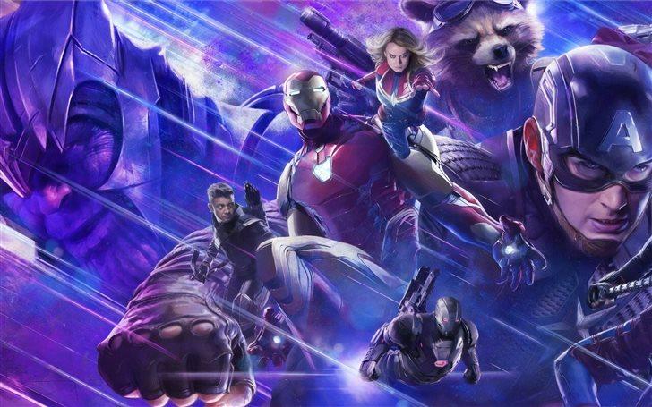 5k avengers endgame 2019 new Mac Wallpaper