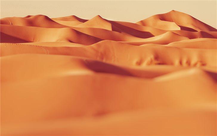 landscape photo of sand Mac Wallpaper