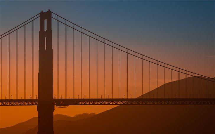 San Francisco Bridge Mac Wallpaper