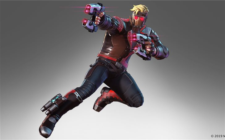 marvel ultimate alliance 3 2019 star lord 8k Mac Wallpaper