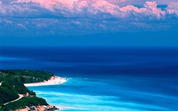 Caribbean coast Mac wallpaper