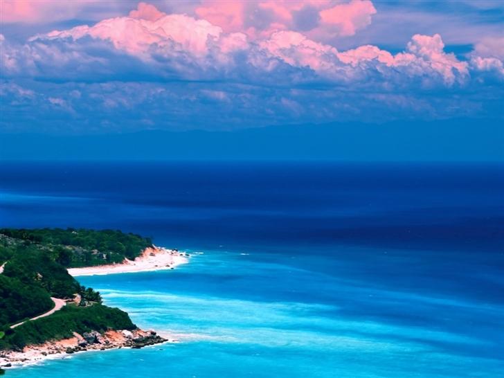 Caribbean coast Mac Wallpaper