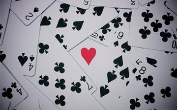 Poker cards Mac wallpaper