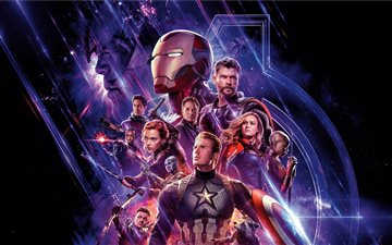 10k avengers endgame All Mac wallpaper