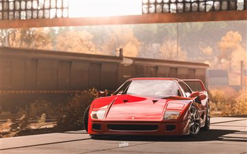 forza horizon 4 ferrari 5k All Mac wallpaper