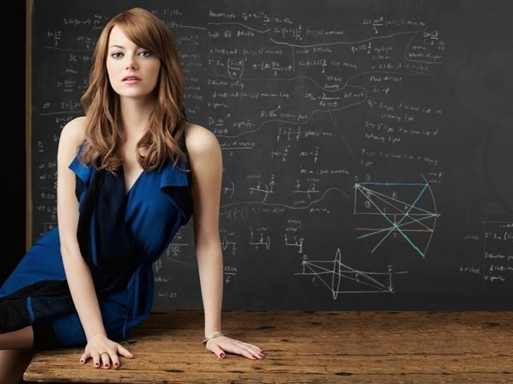Emma stone actress Mac Wallpaper