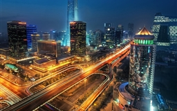 Beijing at night china