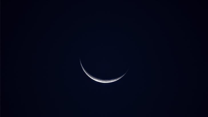 crescent moon Mac Wallpaper