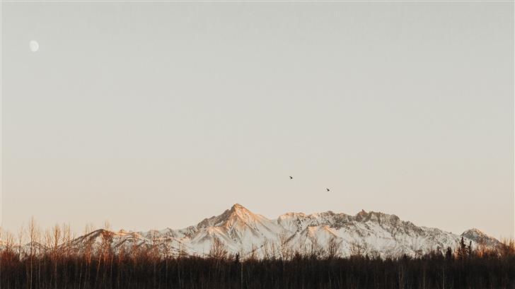 Alaska Golden Hour  Mac Wallpaper