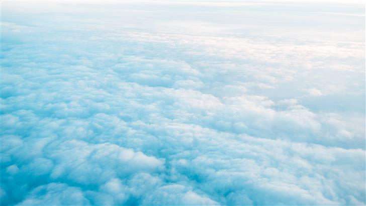 white cloudy sky during daytime Mac Wallpaper