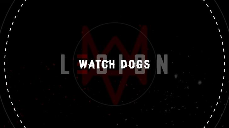 watch dogs legion logo 5k Mac Wallpaper