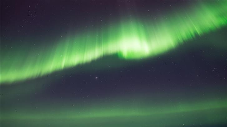 green Northern Lights wallpaper Mac Wallpaper