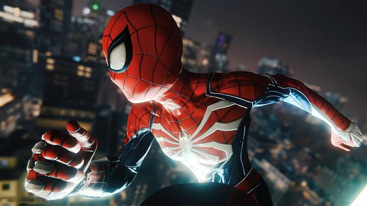 marvel spiderman ps4 game 2019 5k Mac Wallpaper