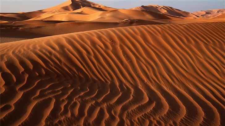 sand dunes during daytime Mac Wallpaper