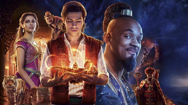 aladdin 2019 movie 10k Mac Wallpaper