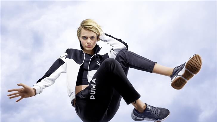 cara delevingne puma 2019 8k Mac Wallpaper
